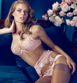 best honeymoon lingerie and silk thigh high stockings