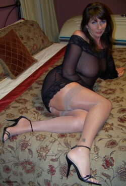 nylon stockings for men and tumblr wife in lingerie
