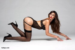 shop stockings and pink lingerie