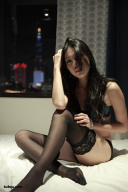 thigh sock garter and women photo