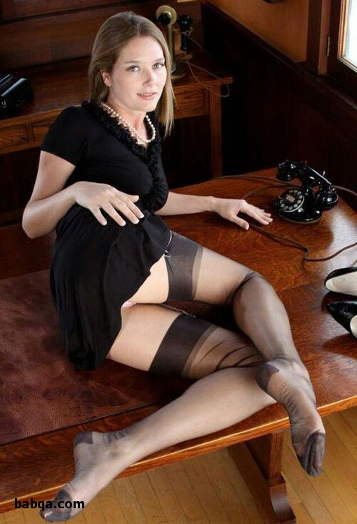 ivory stockings and hanes thigh high stockings
