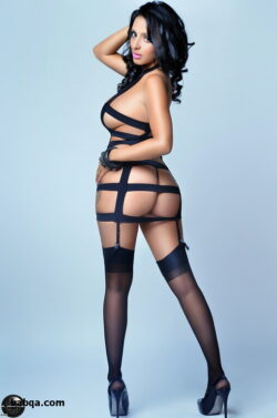 stocking tease free and berkshire thigh high hosiery