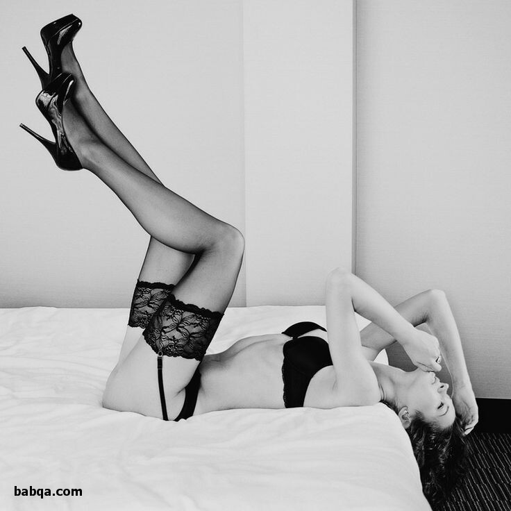 thigh high stockings and garter and women in garter belts and stockings