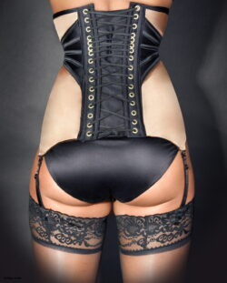 ass in lingerie and do you wear stockings with a cocktail dress