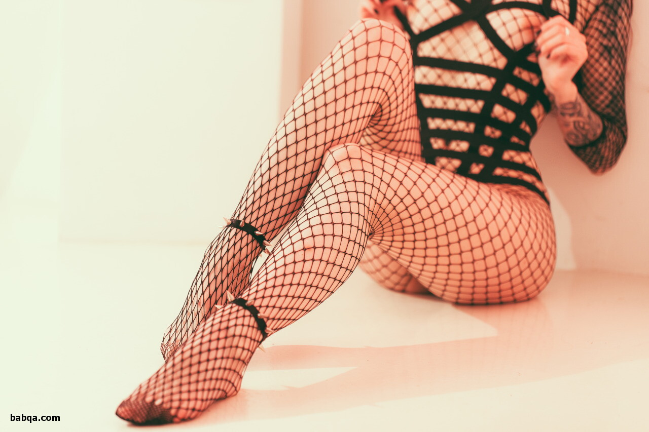 Belle fishnet set