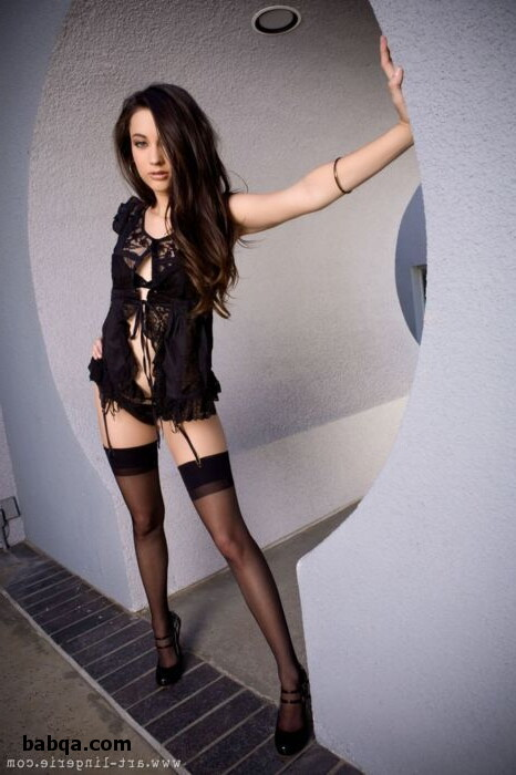 women in stockings and high heels and thigh high stockings tall