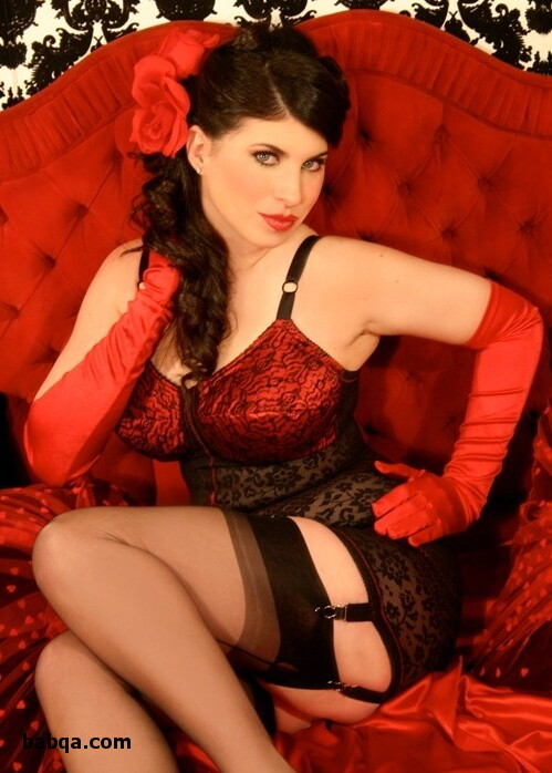 hot stocking babes and black silk lingerie