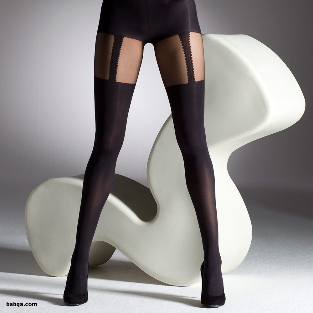 nylon stockings and garter belts and hot leather outfits