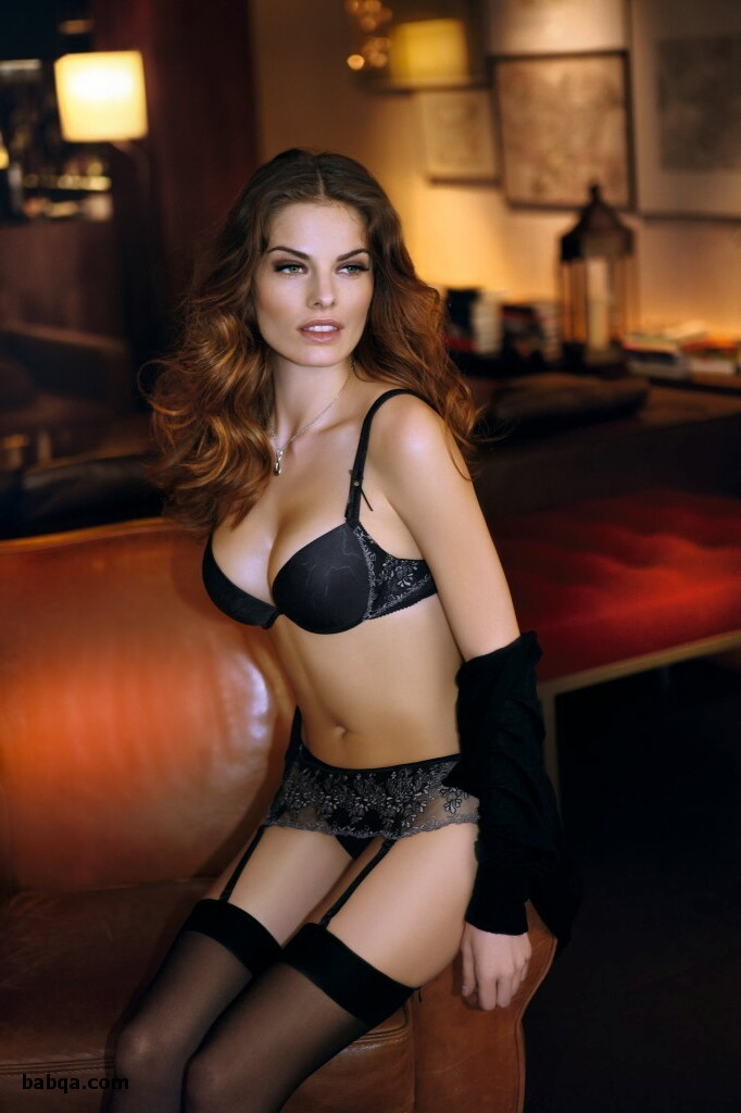 sexy babes in black stockings and s&m outfits
