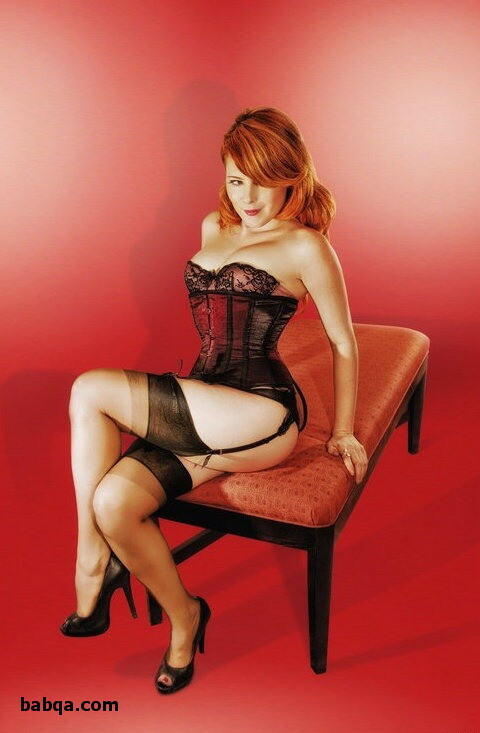 glitter thigh high stockings and lana lingerie tease