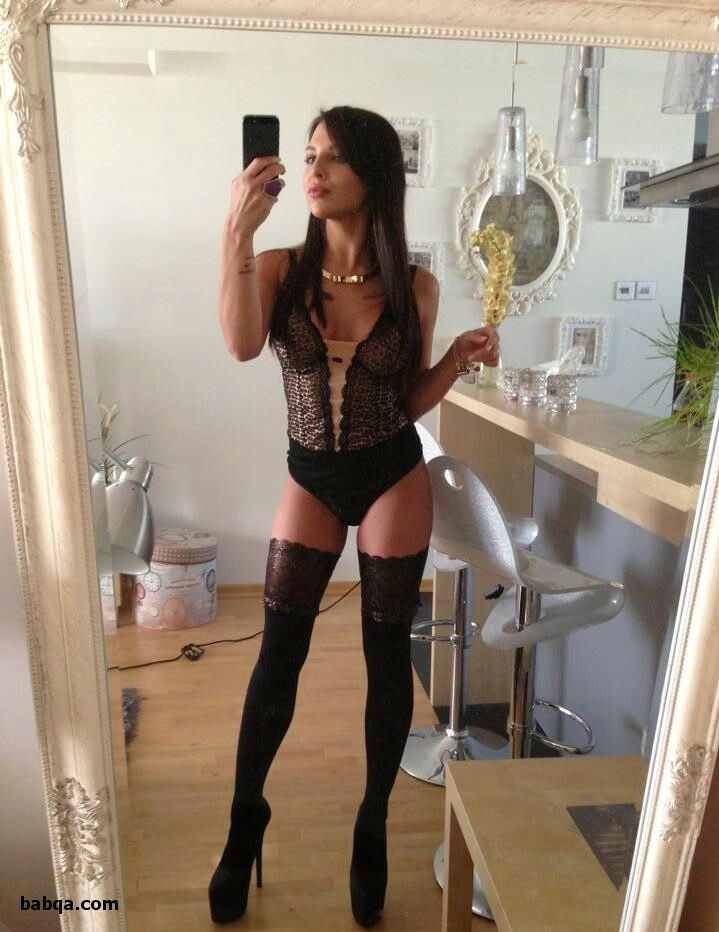 sexiest outfit a girl can wear and thigh high compression stockings 20 30