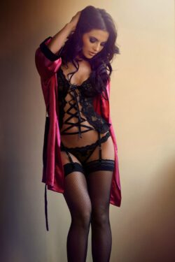photo lingerie and silk lingery