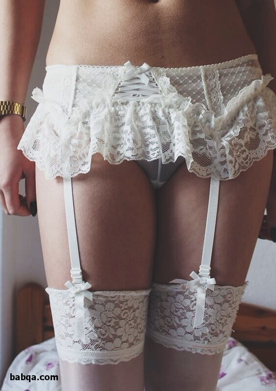 teens in thigh high stockings and asian milf lingerie