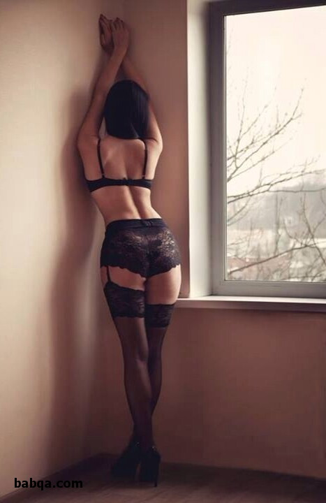 lingerie babes naked and fashion thigh high stockings