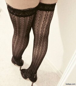wife lingerie anal and sexy skirt and stockings