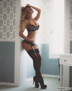 hot matures in stockings and black thigh high socks with bows