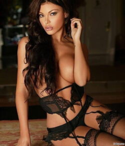 stocking milf pussy and best lingerie paris